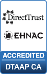 EHNAC CA certification badge