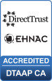 EHNAC CA certification logo