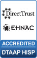 EHNAC HISP certification logo