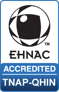 EHNAC TNAP certification badge